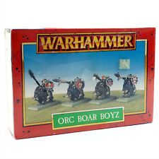 Warhammer Fantasy Orcs and Goblins Orc Boar Boys Sealed New