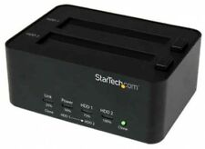 StarTech USB 3.0 Disco Duro Sata Duplicadora y borrador Dock independiente UK Post