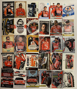 Tony Stewart NASCAR LOT OF 30 INSERTS PARALLELS NO DOUBLES!!!!!!!
