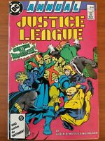 DC COMICS - JUSTICE LEAGUE ANNUAL #1 - 1987