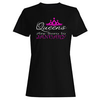 Queens are born in January  Ladies T-shirt/Tank Top r16f