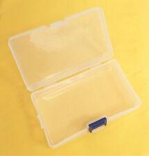"3x  Multipurpose Small (L: 5.5""xW: 3""xH: 1.5"") Transparent Plastic Storage Box"