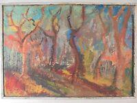 Art Moderne XX HST Moderniste Brutaliste Paysage Fauve Victor FELTRIN,  circa 50