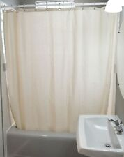 Shower Curtain - Available in Cotton, Hemp, Organic Cotton - MADE IN USA