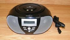 Insignia (NS-B3111) Black Compact Disc Player Boombox With AM / FM Radio *READ*
