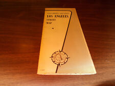 1957 AAA Los Angeles Southern Section Vintage Road Map