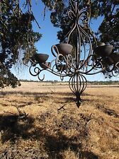 Spanish Revival Chandelier Gothic Renaissance Style Antique Medieval Lighting