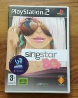 Singstar 80's PlayStation 2. Free UK Postage