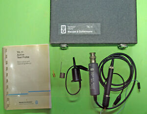 W&G  Wandel & Golterman TK11 HF probe in VG condition with manual and Box + acc.