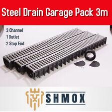 Drainage Channel Garage Pack 3 M Galvanized Grating