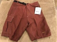 Trek Trailrider Trail Rider Cycling Shorts Padded Liner Men's Small Rust Root