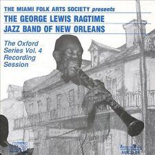 Vol. 4-George Lewis Ragtime Jazz Band Of New Orlea - George Lewi (1992, CD NEUF)