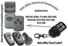 868 Mhz Handsender kompatibel zu Marantec Garagentor D302-868, D304-868, D321