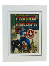 Captain America #100 Cover Art Print Matted Jack Kirby Marvel Comics Universe
