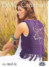 BRAND NEW DMC Crochet Pattern - Waistcoat