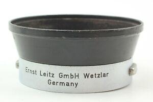 🔹Exc+5🔹 LEICA LEITZ IROOA ORIGINAL LENS HOOD 35mm 50mm f2 f2.8 f3.5 from Japan