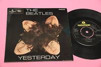Beatles EP Yesterday 4 Canozni Orig UK 1965 Mono EX+ Top Rare Collector No Label