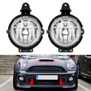 for BMW Mini Cooper R55 R56 Front Bumper Fog Light Lamps No Bulb Left & Right