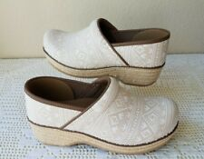 Dansko Jute Pro Closed-Back Clogs Slip-Ons Womens Euro 40 US Size 9.5-10 NWOB