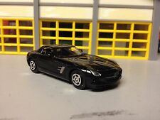 1/64 2014 Mercedes-Benz Gls Amg Gullwing in Black with Black Int