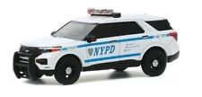 Greenlight 42920-F Hot Pursuit 2020 Ford Police Interceptor Utility NYPD 1:64