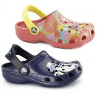 Crocs CLASSIC KIDS Unisex Girls Boys Croslite Graphic Fruit Star Wars Clog Shoes