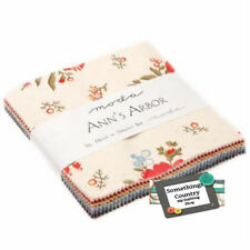 Quilting Patchwork Sewing Fabric Charm Pack ANNS ARBOR 5inch square NEW
