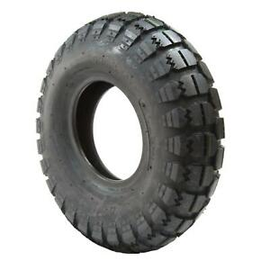 5.30/4.50 - 6 Black Block Pneumatic Mobility Scooter Tyre  (530/450 x 6)