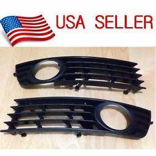 For 02-05 AUDI A4 B6 SEDAN FRONT BUMPER LOWER FOG LIGHT GRILLE INSERT PAIR 2xA1L