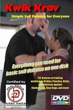 """SIMPLE KRAV MAGA 10 DVD Set"", everything needed for Easy to Learn Self Defense."