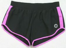 Old Navy Small Black Pink Athletic Running Shorts Polyester Lined Woman's Womens