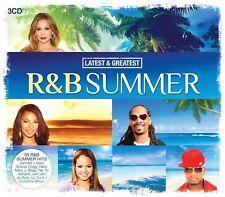 R&B SUMMER-LATEST & GREATEST (NE-YO, LIL WAYNE, JENNIFER LOPEZ,...) 3 CD NEW+