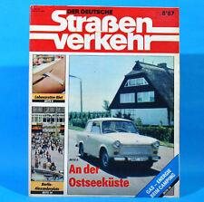 Der Deutsche Straßenverkehr 8/1987 Ribnitz-Damgarten Velorex 700 Bautzen M10