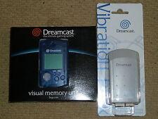 SEGA DREAMCAST OFFICIAL VMU VIBRATION PACK BRAND NEW! GENUINE VISUAL MEMORY UNIT