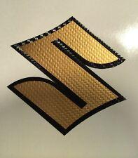 Suzuki S Aufkleber Emblem für GSX R 600 750 1000 Bandit V-Strom Carbon Folie