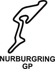 x2 Nurburgring Gp Circuit Race Track Outline Vinyl Decals Stickers Graphics