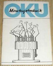 OKU Montagetechnik - Karikaturen der Firma OKU-Automatik Otto Kurz Winterbach