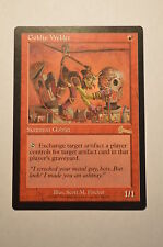 Mtg Magic the Gathering Urza's Legacy Goblin Welder
