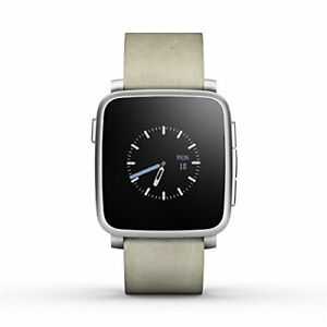 Pebble Time Steel (Pebble Time Steel) Silver [Parallel Import Goods]