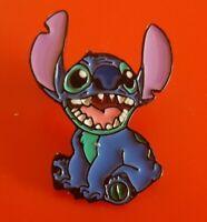 Lilo and Stitch Pin Happy Enamel Metal Brooch Badge Lapel 00s Movie Cartoon