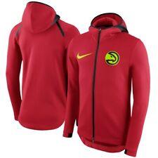 New listing NEW Men's Nike Atlanta Hawks Therma Flex Showtime Full-Zip Hoodie Red Size XL