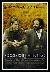Good Will Hunting Movie Poster Print & Unframed Canvas Prints