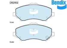 Bendix Front Brake Pad 4x4 For Dodge Nitro 07-12 3.7 V6 4x4 DB2002 -4WD
