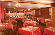 Interior View, Charlie Chin Restaurant, Old Post Road, Charlestown, Rhode Island