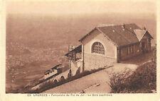 Lourdes, Funiculaire du Pic du Jer, La Gare supérieure, Bahnhof, Zahnradbahn