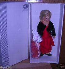 """#1279 NIB Vintage GOTZ 18"""" Morgan Fashion Doll with Three Outfits Art 9925031"""