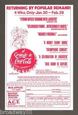 "Ron House ""EL GRANDE DE COCA-COLA"" Diz White 1976 San Francisco Flyer"