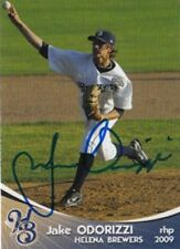 Jake Odorizzi 2009 Helena Brewers Auto 1st Card Autograph RC Royals Signed