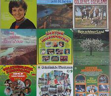11 LP Vinyl Schall-Platte POP-Hits Schlager Lieder Volksmusik RCA AMIGA Konvolut