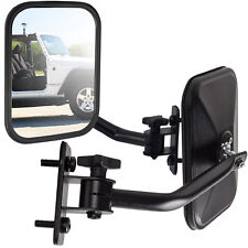 Side View Mirror Fits 97-18 Jeep Wrangler Black Driver Passenger Quick Release
